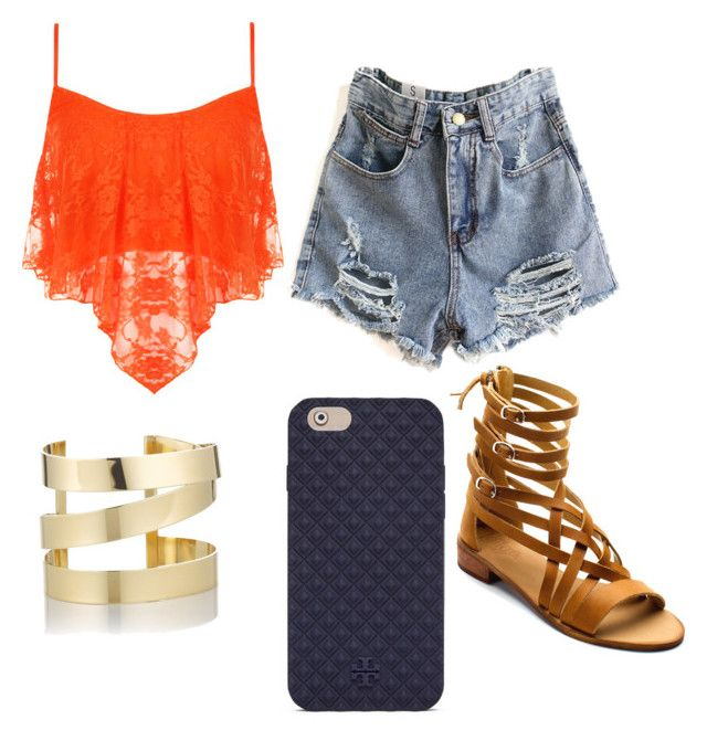 """""""summer wishes #polyvore"""" by mcgeorgel on Polyvore featuring WearAll, Latigo, Tory Burch and Étoile Isabel Marant"""