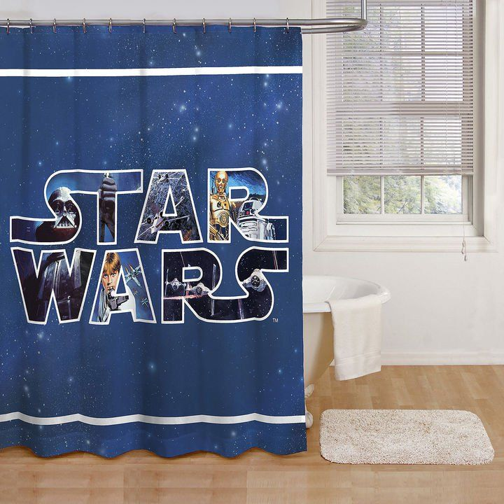 Star Wars Classic Shower Curtain With Images Star Wars