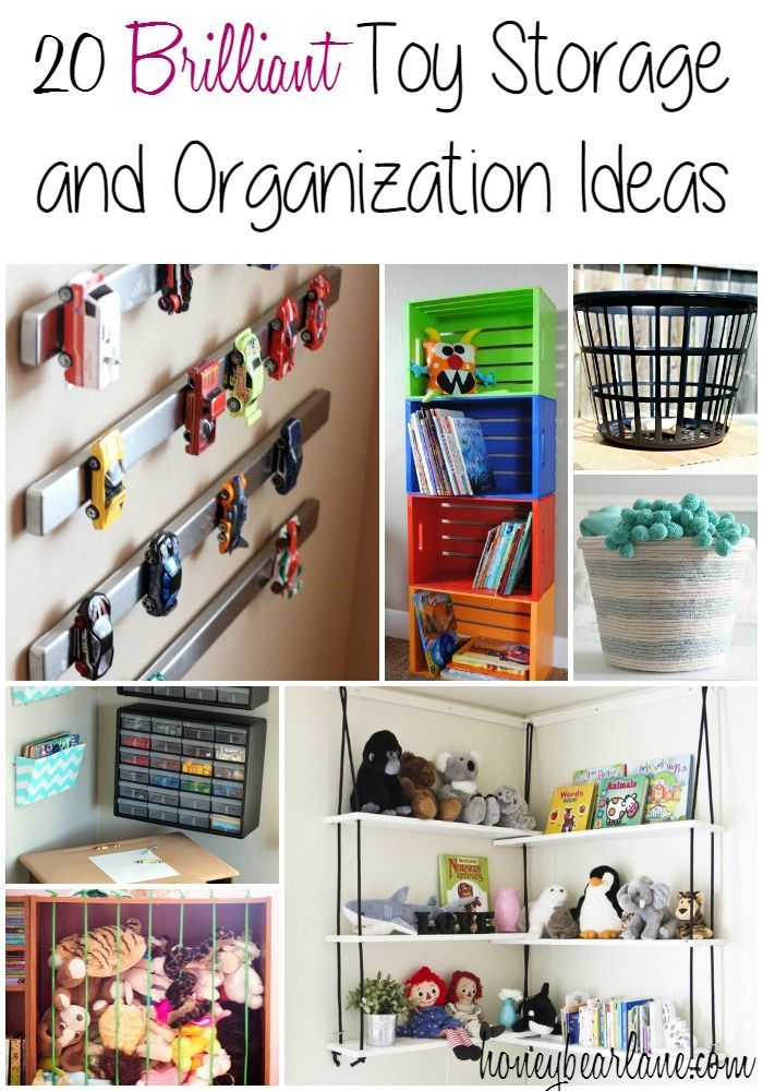 20 Brilliant Toy Storage And Organization Ideas Storage And