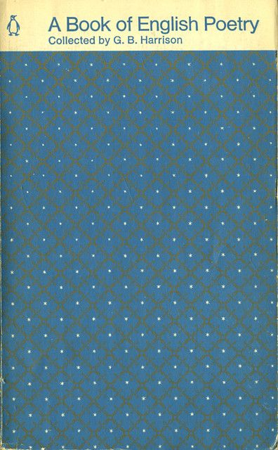 Penguin Book Cover Grid : A book of english poetry penguin books covers and