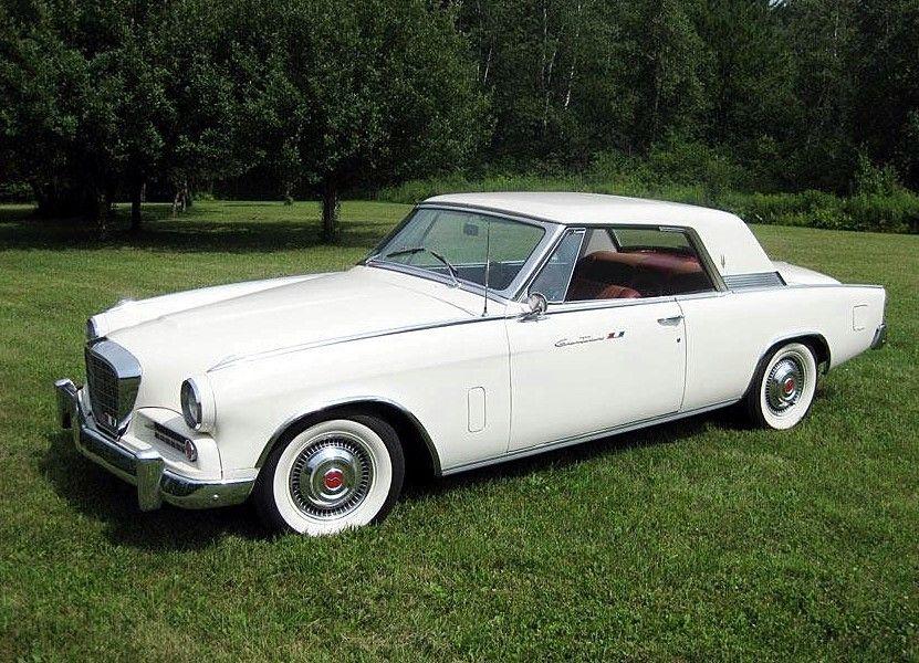 Studebaker Gran Turismo Hawk 1963 Studebaker Motor Car Old Cars