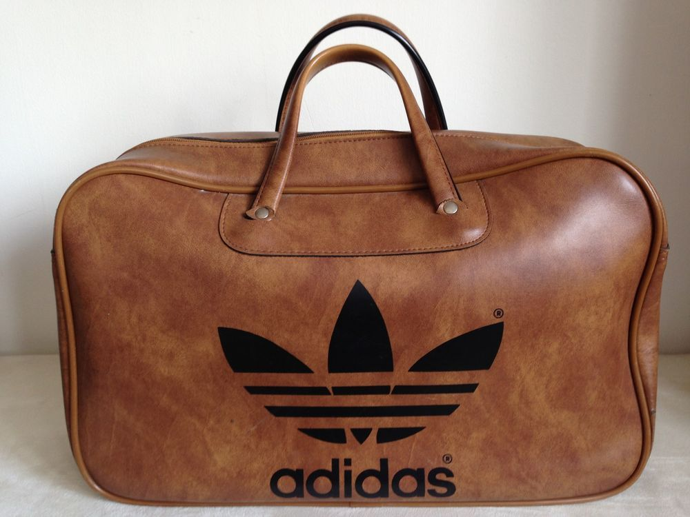 Genuine peter black adidas bag - vintage 1970 s  3b5d475daad4b