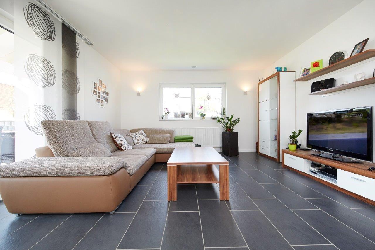 Wohnzimmer Modern Mit Tv Wand Regal Ideen Wandgestaltung Mit