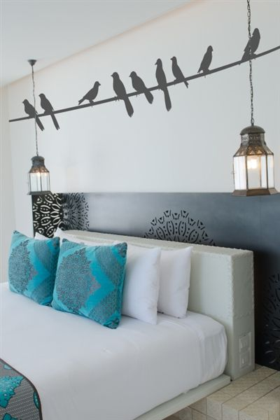 Birds on a Wire Wall Decals Interior Pinterest Tapeten-Designs