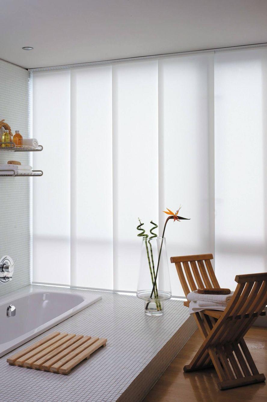 Paneles japoneses en blanco para tapar el escaparate - Panel pared cocina ...