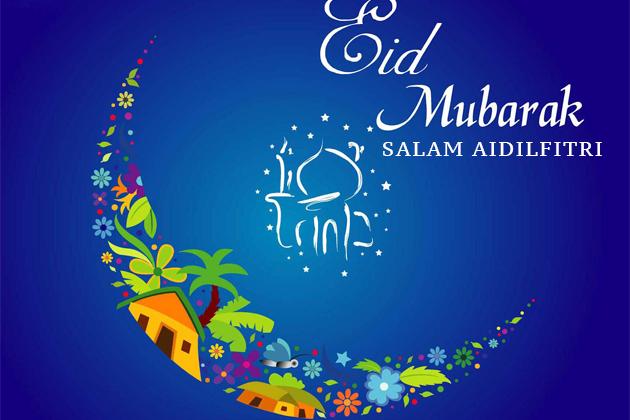 Paku Midin Permohonan Balik Kampung Sambut Hari Raya Gawai Da In 2020 Eid Mubarak Images Eid Mubarak Greetings Happy Eid Mubarak