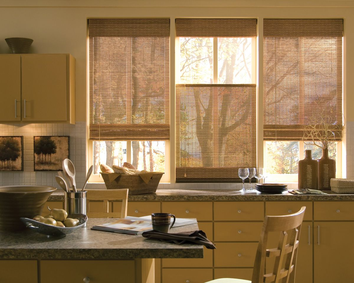 There are so many different types of amazing looking bamboo blinds ...