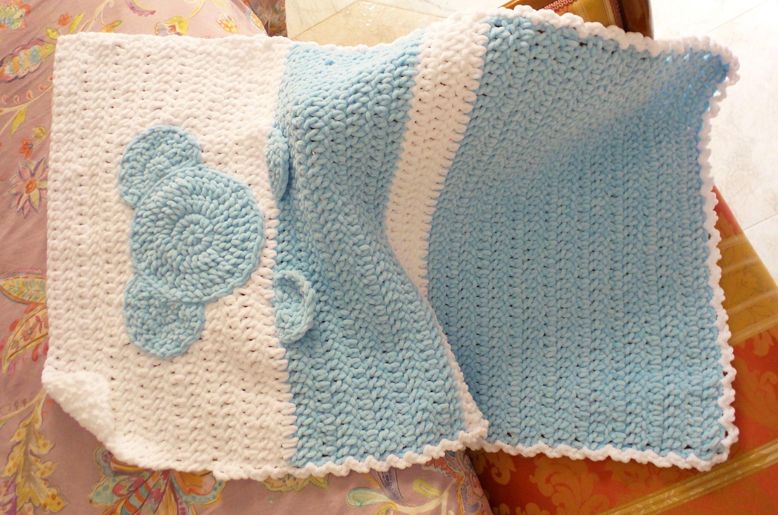 Baby Blanket (manta bebé) a crochet by Missaquitos. Patrón de KATIA ...