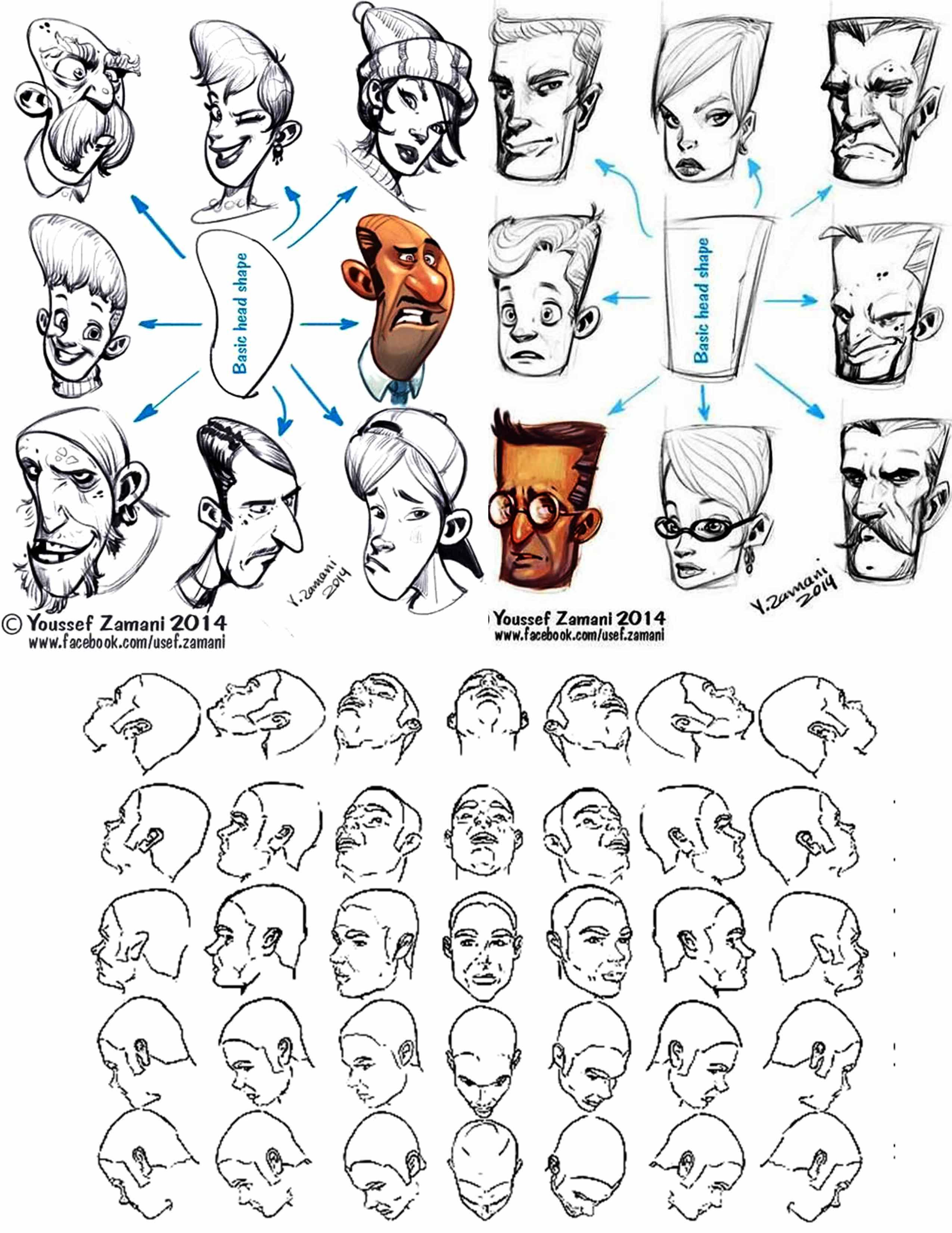 female head drawing reference 80697 loadtve