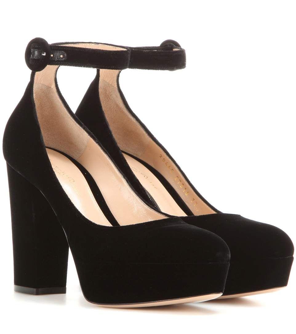 GIANVITO ROSSI. Velvet ShoesBlack VelvetBlack PumpsHigh ...