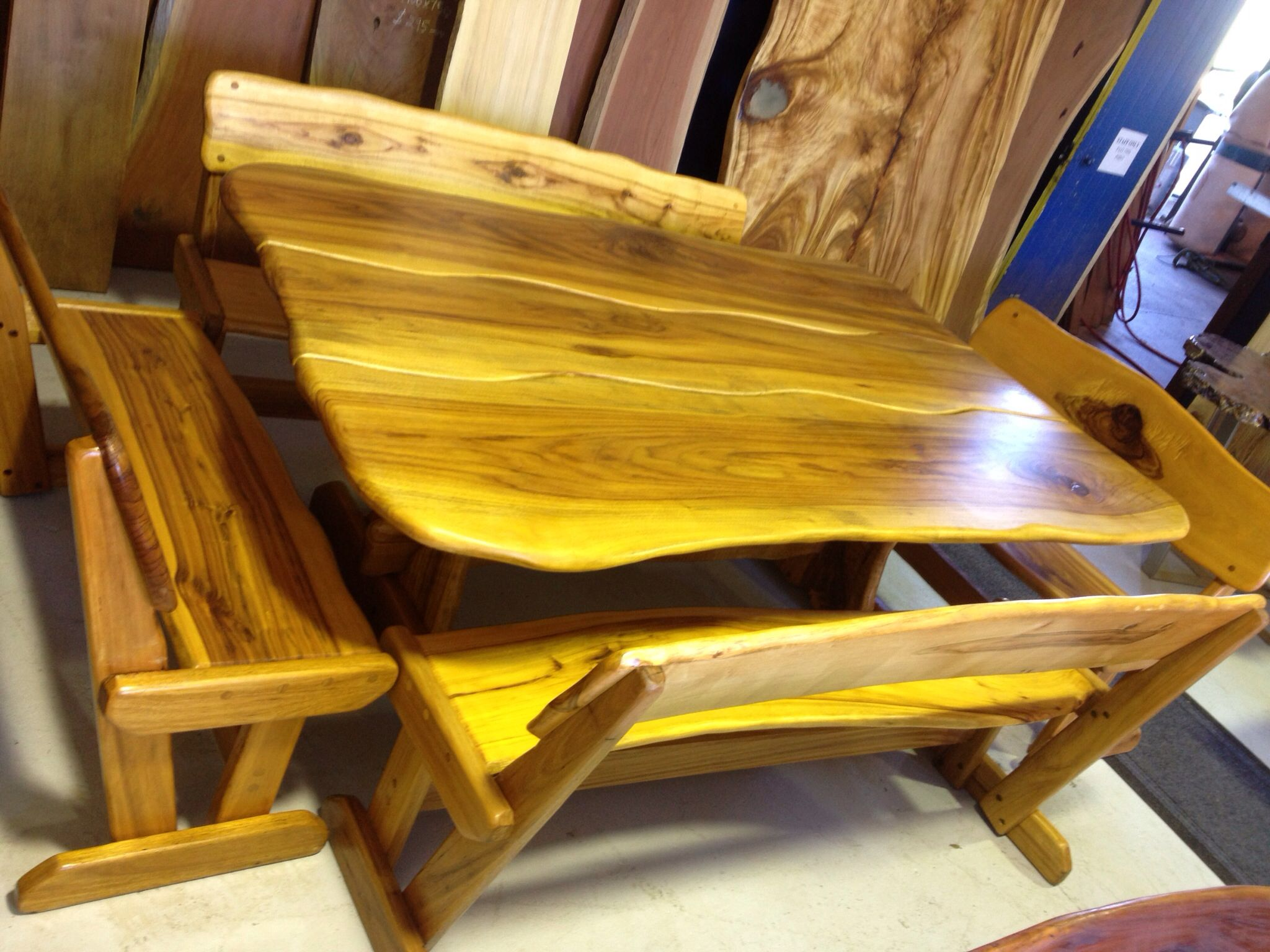 Camphor Laurel table setting from Garde Timber Brisbane | Camphor ...