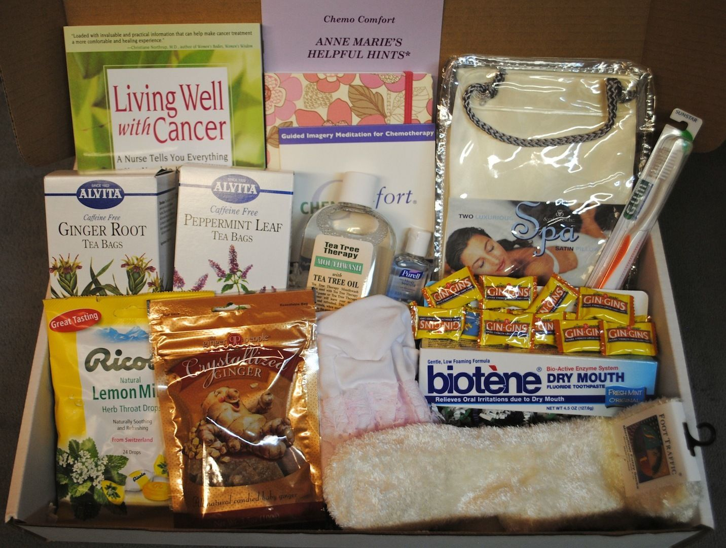 Chemo Comfort Kits Breast Cancer Survivail Kit Idea To