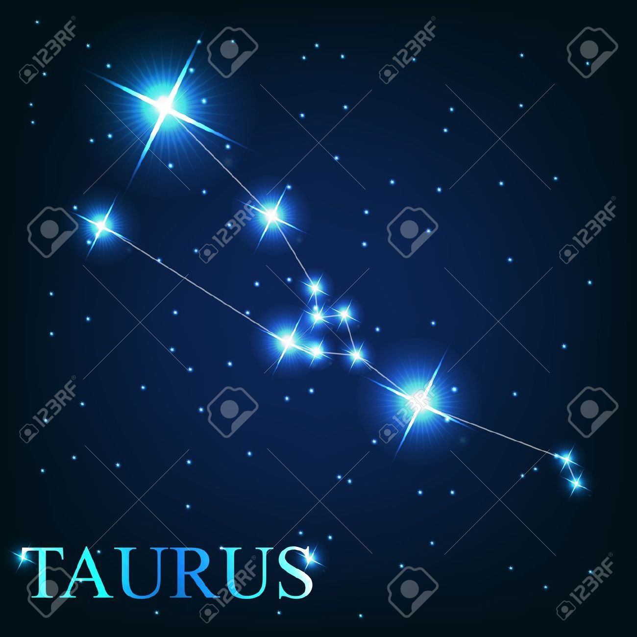 Stier Sternzeichen Stock Photo Tattoos Taurus Constellation Tattoo Taurus