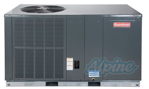 Goodman Gpc1424h41 2 Ton 14 Seer Self Contained Packaged Air Conditioner Dedicated Horizontal Heat Pump Locker Storage Air Conditioner