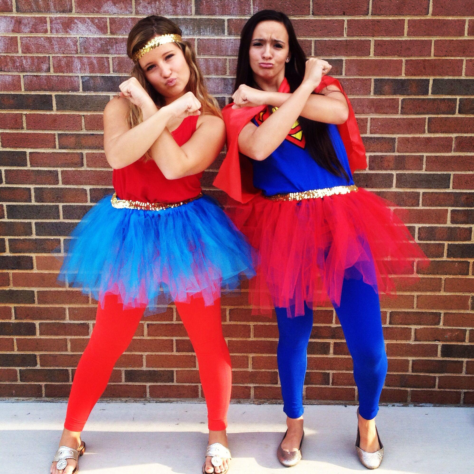 Great twin day costume for spirit week DIY Pinterest