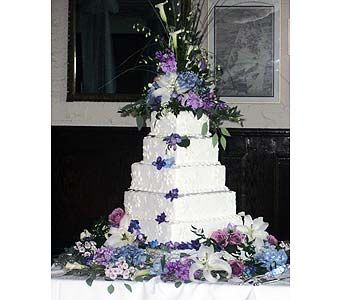 Flowers for wedding cake - WED018