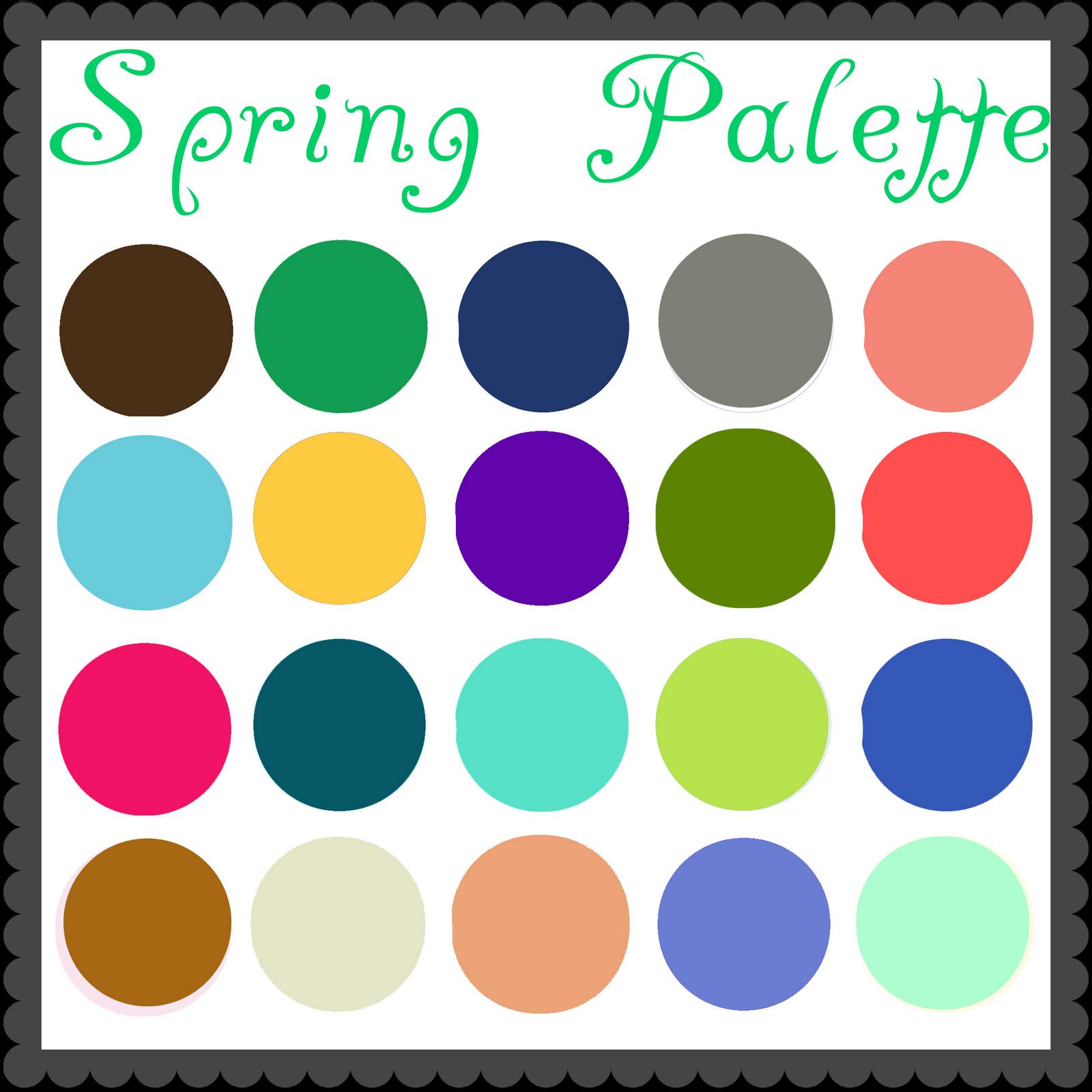 Grown Up Dress Up Blog Color Palette Spring
