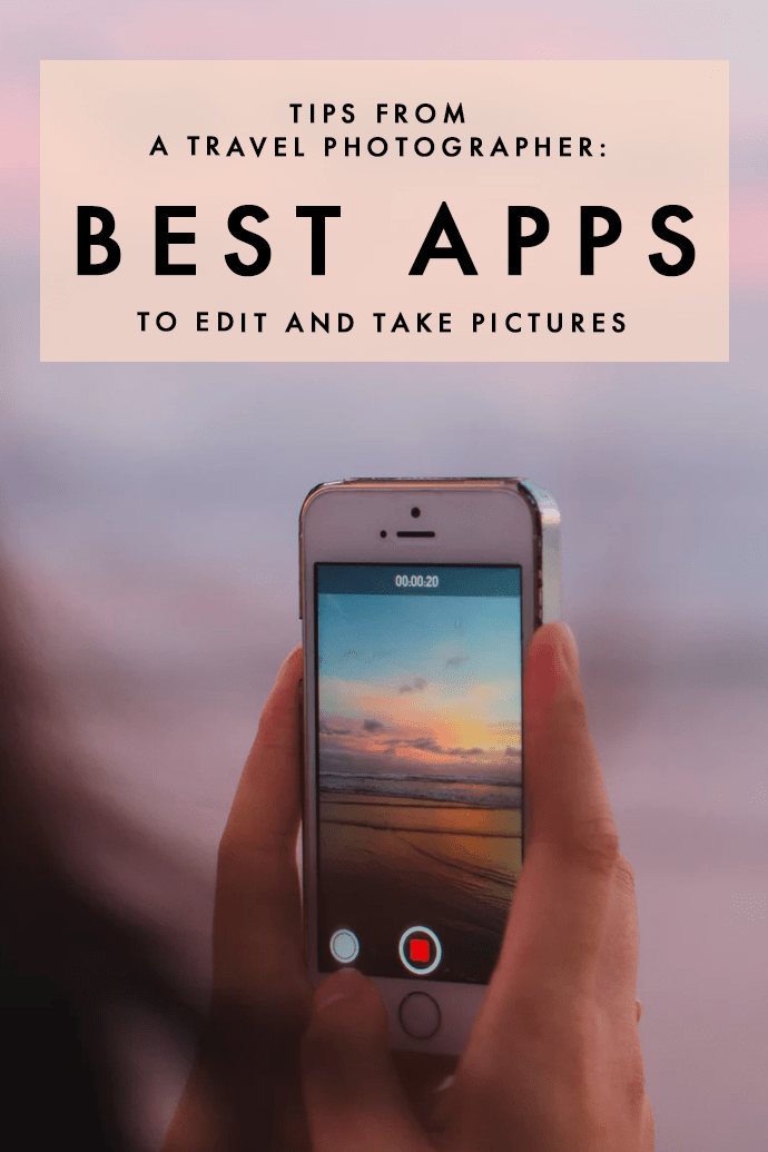 The Five Best Phone Photography and Editing Apps | Travel Tips