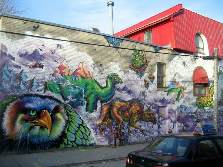 #Graf #Tag #Street Art #Montréal