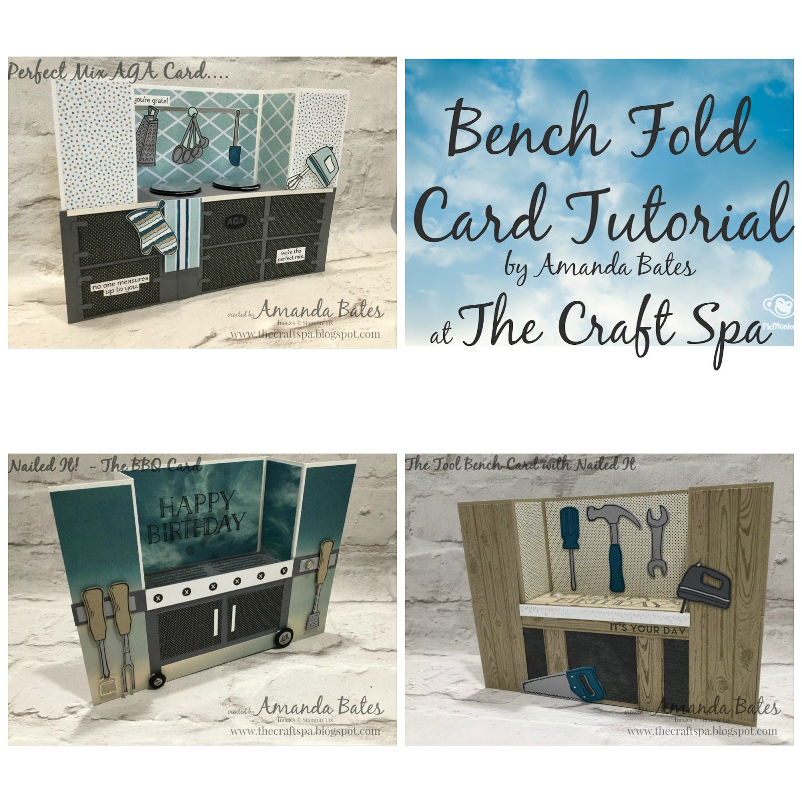 A Uk Blog Featuring Stampin Up Products Sharing Of Cards Boxes Bags Scrapbooking Projects With Tutorials And Tip Card Tutorial Joy Fold Card Bench Card