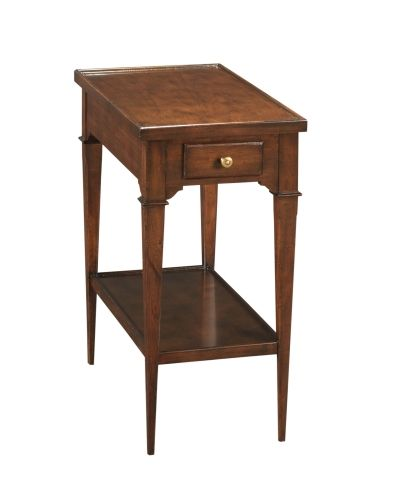 Woodbridge Marseilles 1145 10 Drink Table 12 Wide X 22 Deep X 24 High 472 00 End Tables With Storage Woodbridge Furniture End Tables