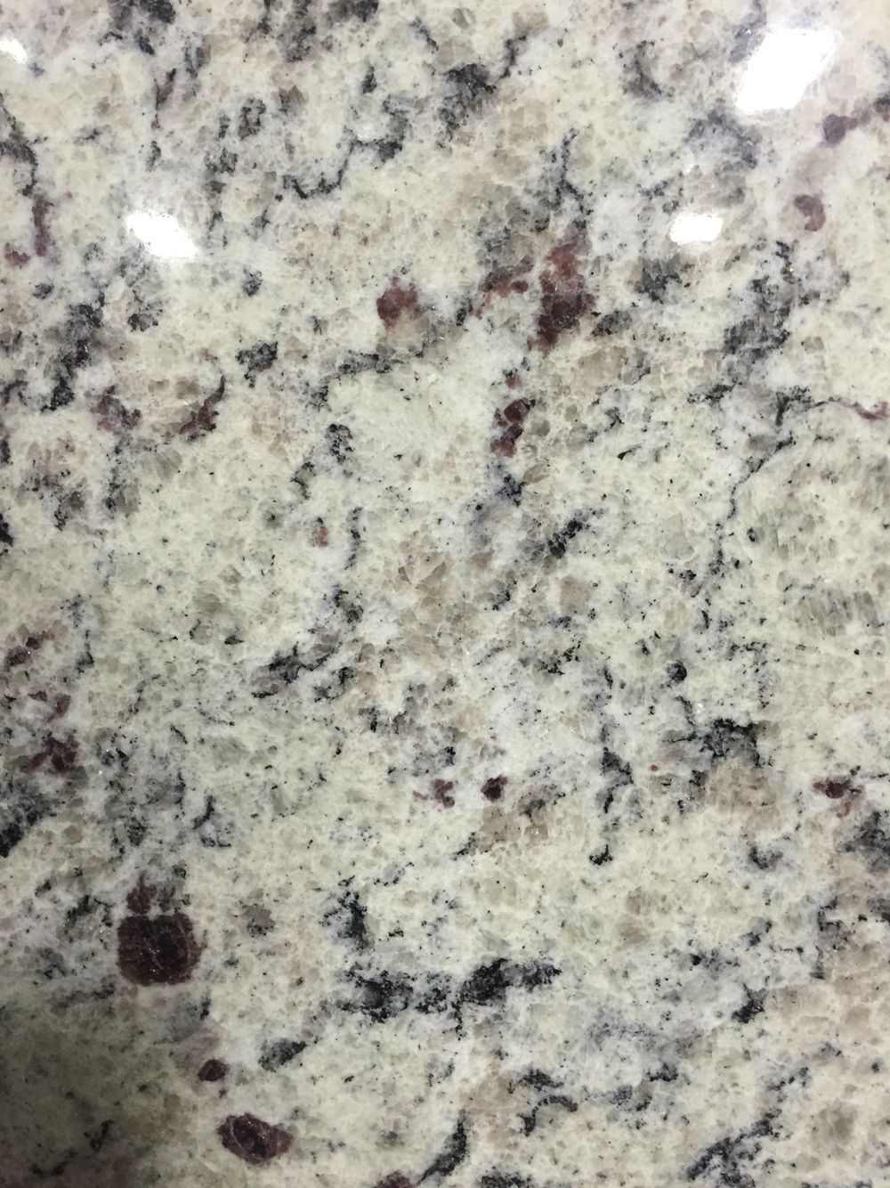 Dallas White Granite 42 Sq Ft Painting Kitchen Countertops