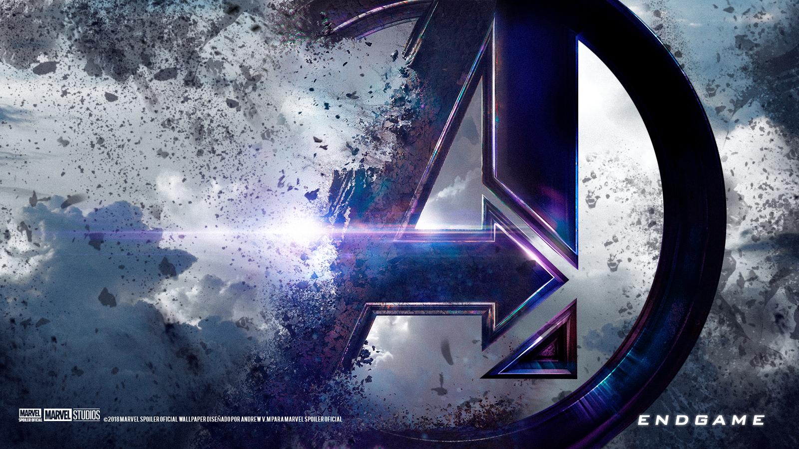 Marvel Spoiler Oficial Avengers ENDGAME Wallpaper Poster
