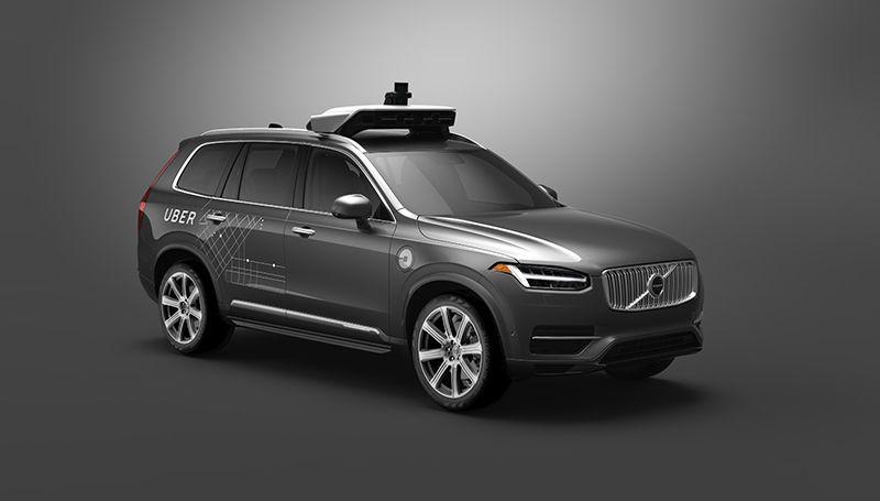 Start einer langfristigen Partnerschaft #Volvo und #Uber entwickeln gemeinsam autonom fahrende Autos