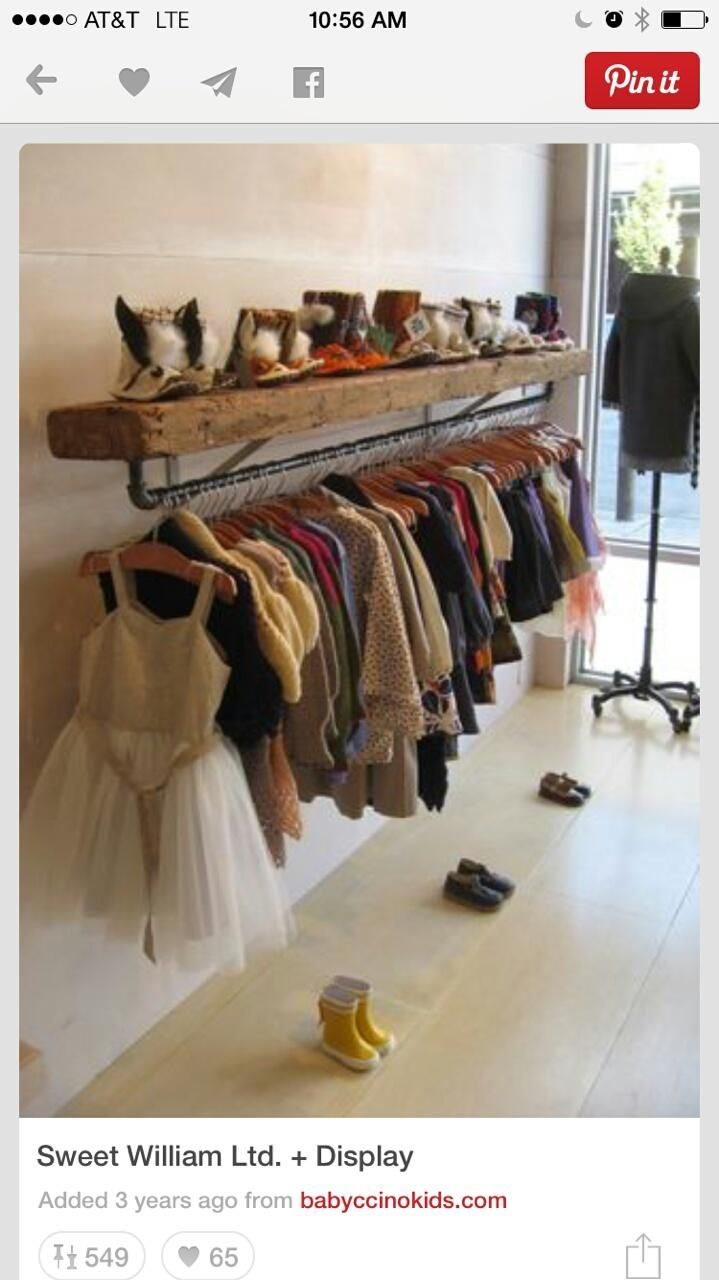 Make floating shelf and pipes attach boutique ideas home kids