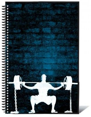 Crossfit WOD book by Journal Menu working out Pinterest