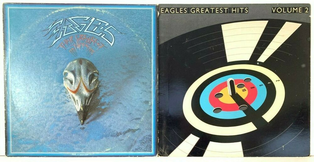 Details About The Eagles Their Greatest Hits Vol 1 1971 1975