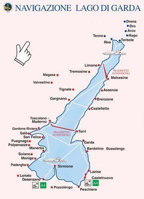 Navigazione | Lago di Garda