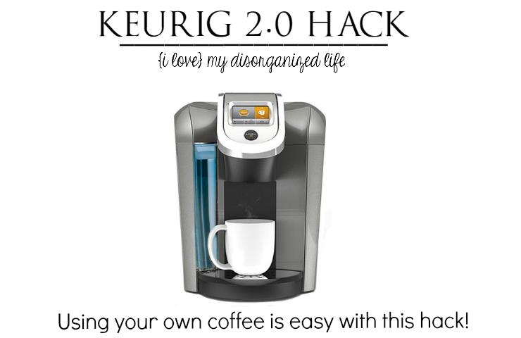 Keurig 2.0 Hack (With images) Keurig, Keurig mini
