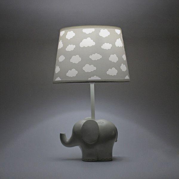 Elephant Cloud Cutout Lamp