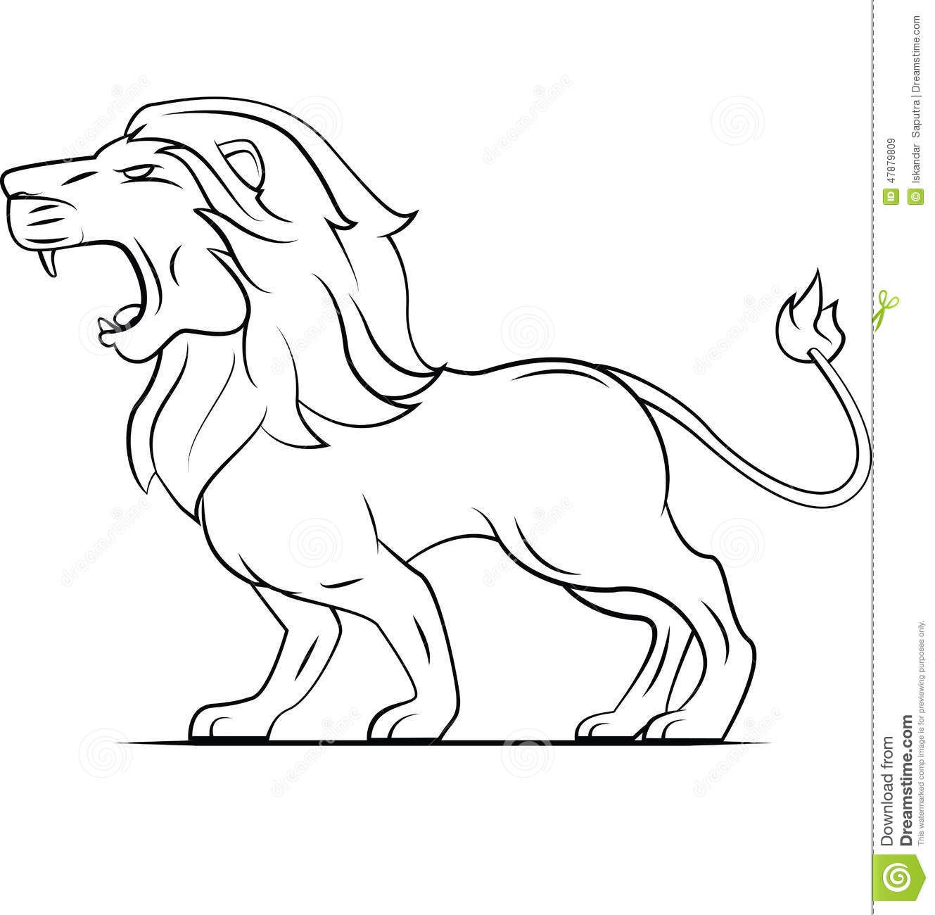 Lion Roaring Drawing Black And White Google Search Free Clip Art Art Drawings