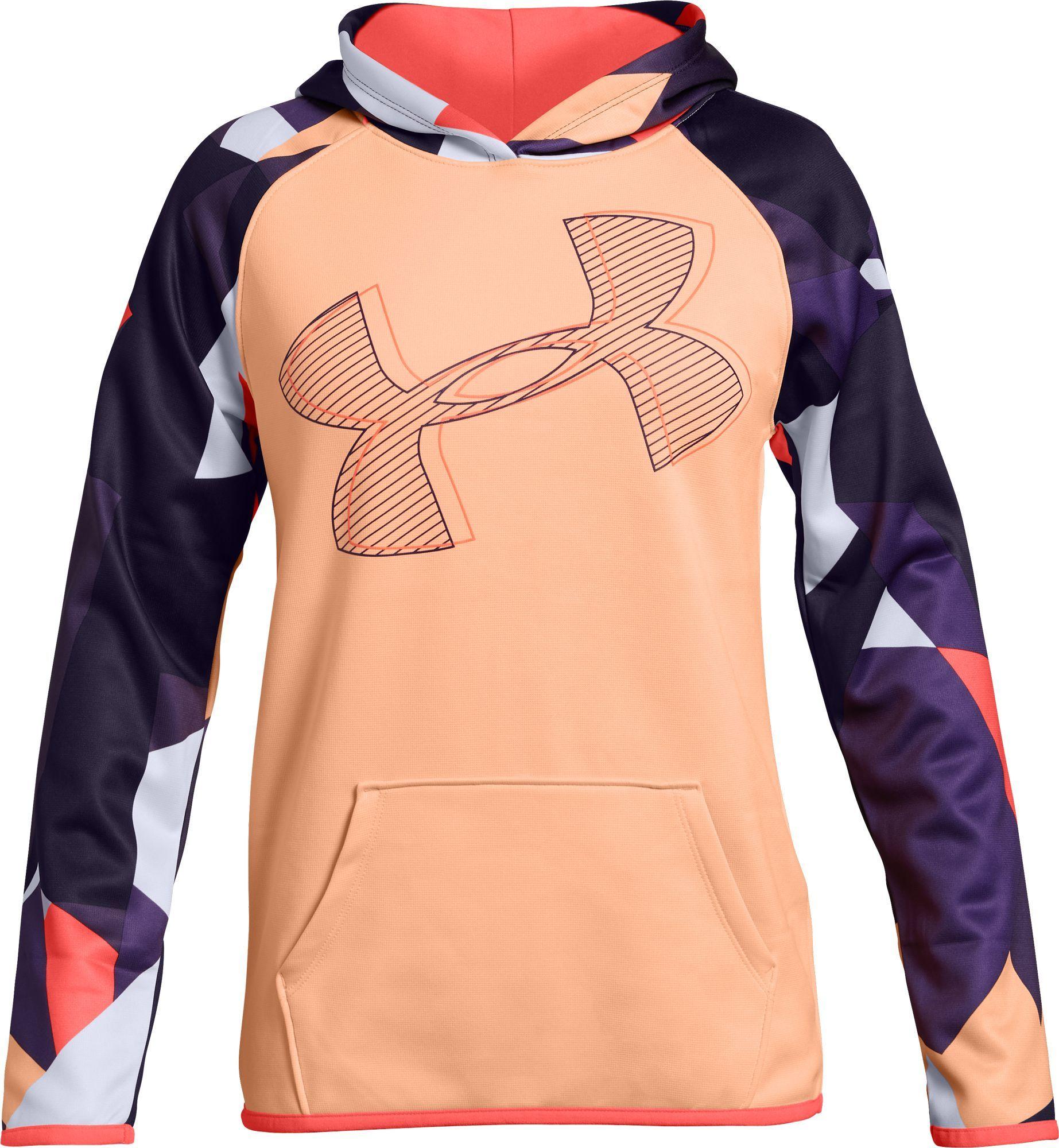 girls under armour fleece hoodie