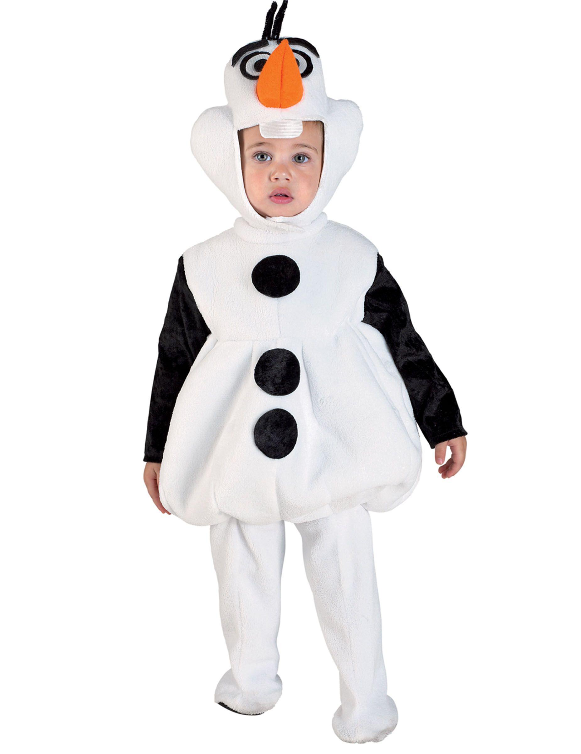 Disfarce boneco de neve criança  0f5cec604b66