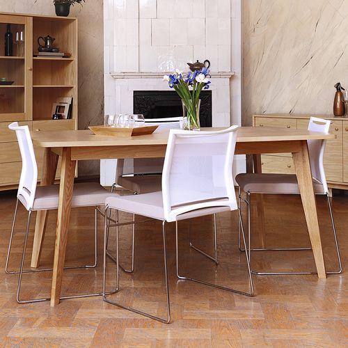 table manger avec rallonge en chne massif kensal - Table De Repas Avec Rallonge