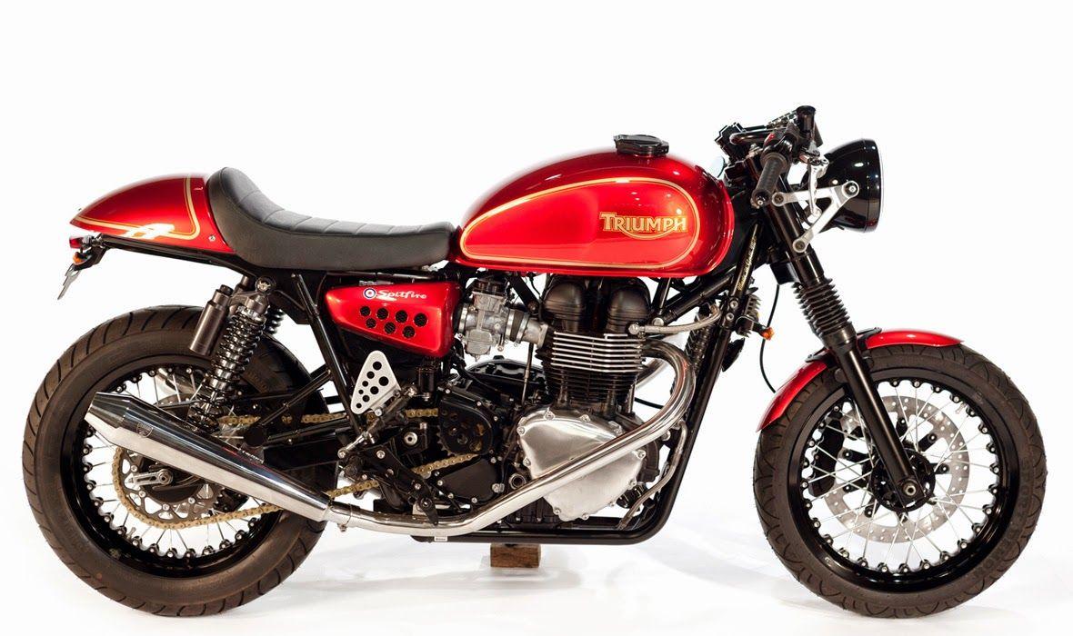 "Racing Cafè: Triumph ""Spitfire"" by Galli Moto"