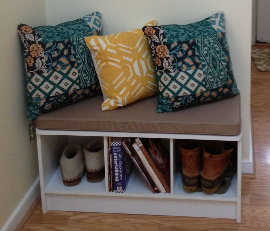 Target Hat Rack Small Entryway Bench So You Don't Just Leave Shoes Everywhere