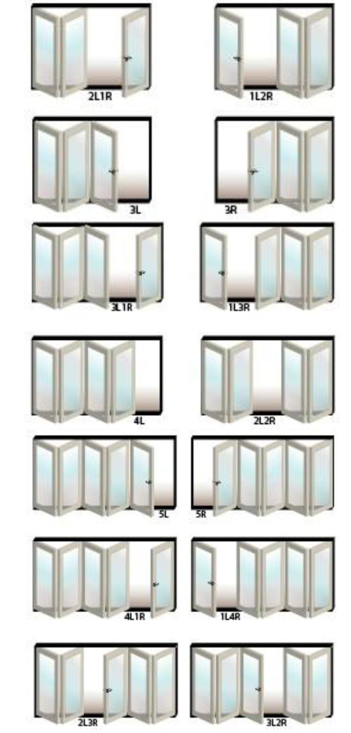 Options! :) bifold exterior doors | Home / Doors / USA Folding ...