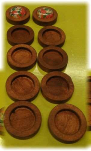 10pcs-12mm-inner-Antique-Wooden-Wood-Cameo-Cabochon-Base-Setting-Tray-Bezel