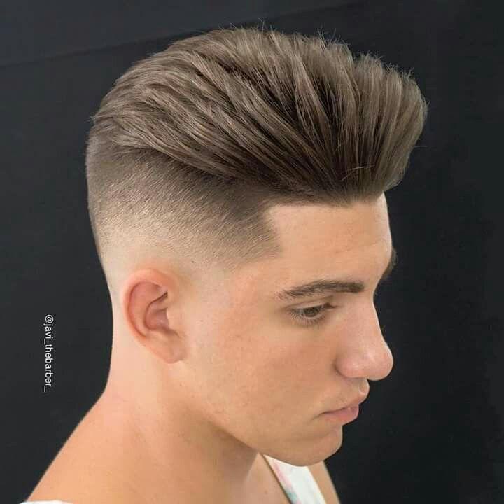 corte degradado peinados tup moderno cortes de pelo pelo de hombre cortes de hombres rockabilly peinado - Peinados Tupe Hombre