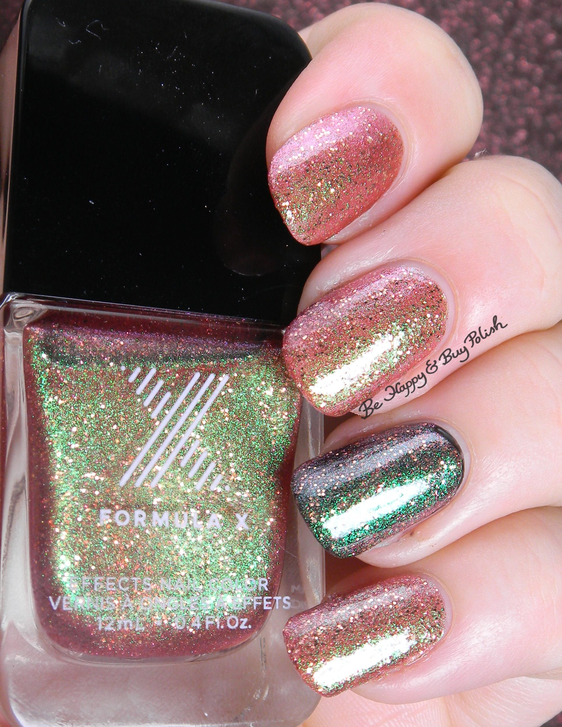 Sephora Formula X The Ombré Glitters swatches + review | Sephora ...