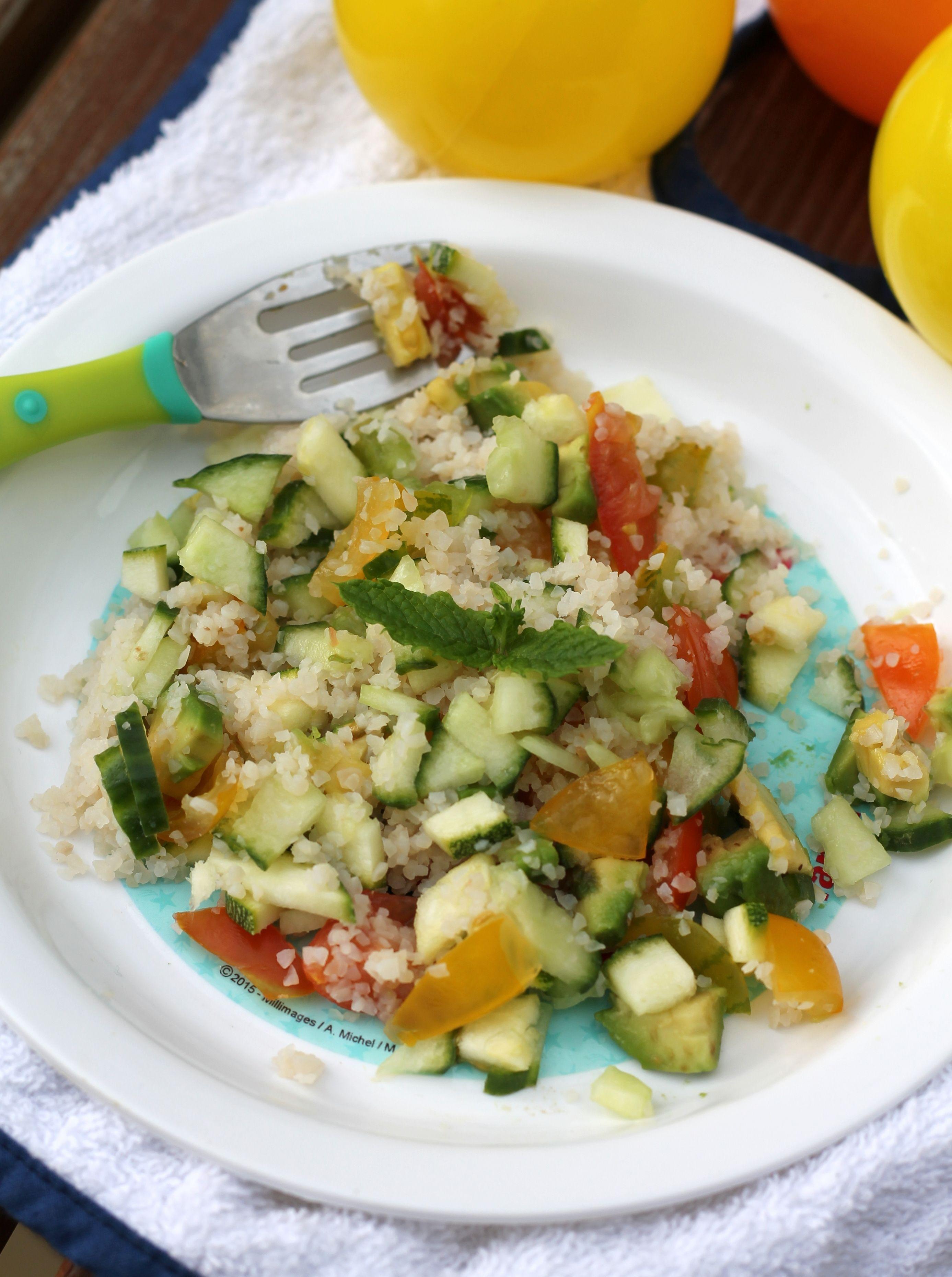 Salade de semoule | Recettes de cuisine, Recette, Recette ...