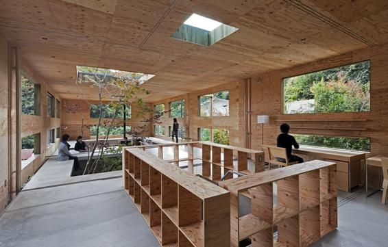 Nest House, UID Architects, Japan. Via www.architectural-review.com