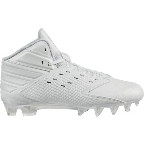 info for d649c 5d08d Adidas Mens Freak X Carbon Mid Football Cleats (Footwear WhiteFootwear  White, Size 10) - Football Shoes at Academy Sports