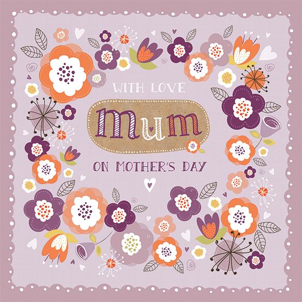 Mother's Day Design Copyright Poppy Davies, 2015