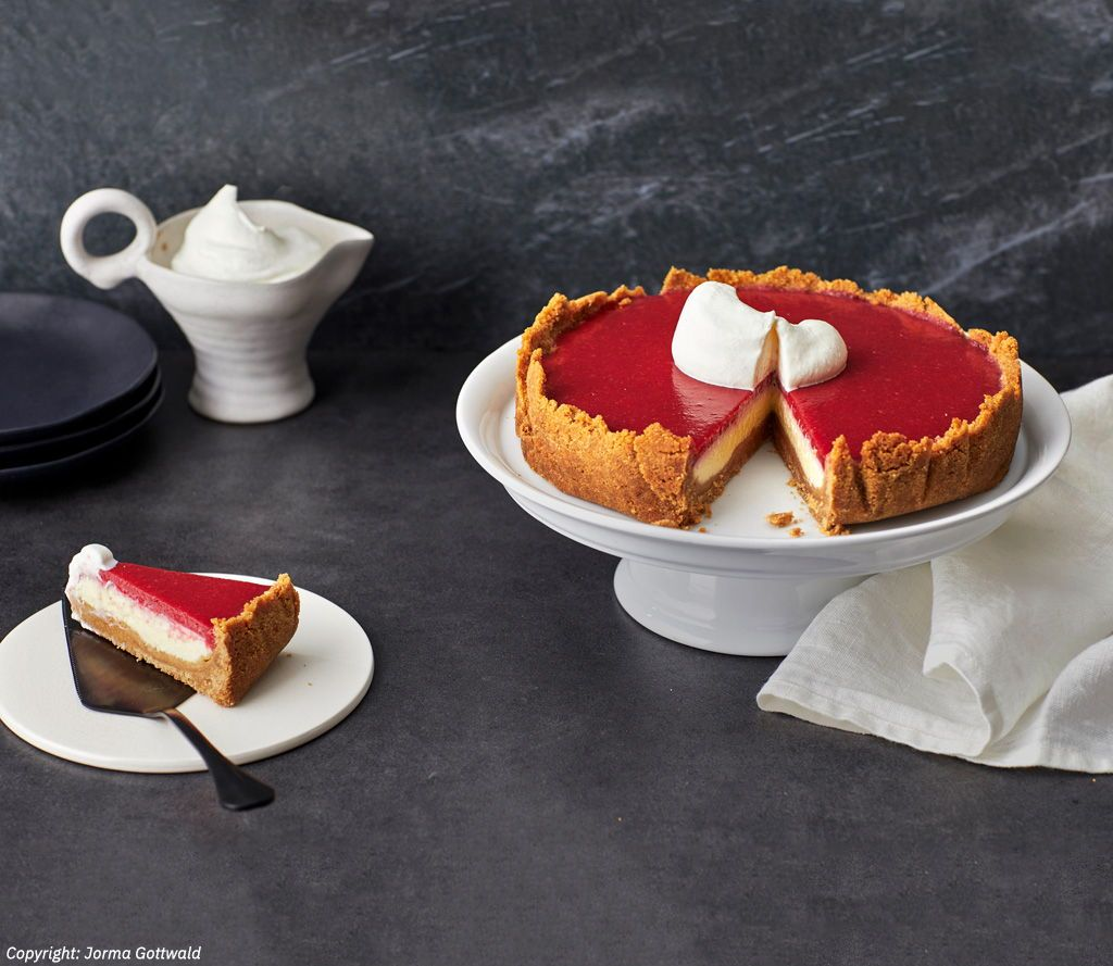 Erdbeer Himbeer Ricotta Torte Von Gourmetkathi Chefkoch Rezept Lebensmittel Essen Torten Kuchen