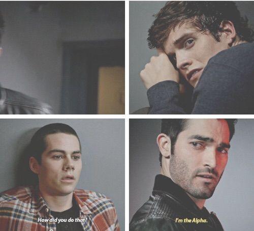 Derek, Stiles and Isaac